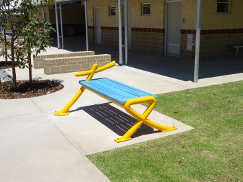 A place for friends to sit, gather and paly